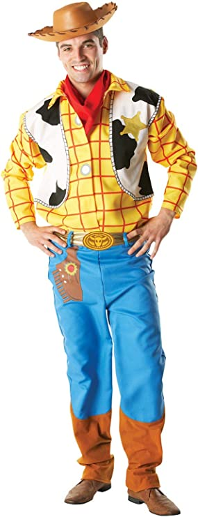Disfraz Oficial de Woody de Toy Story, para Adulto, Talla XL ...