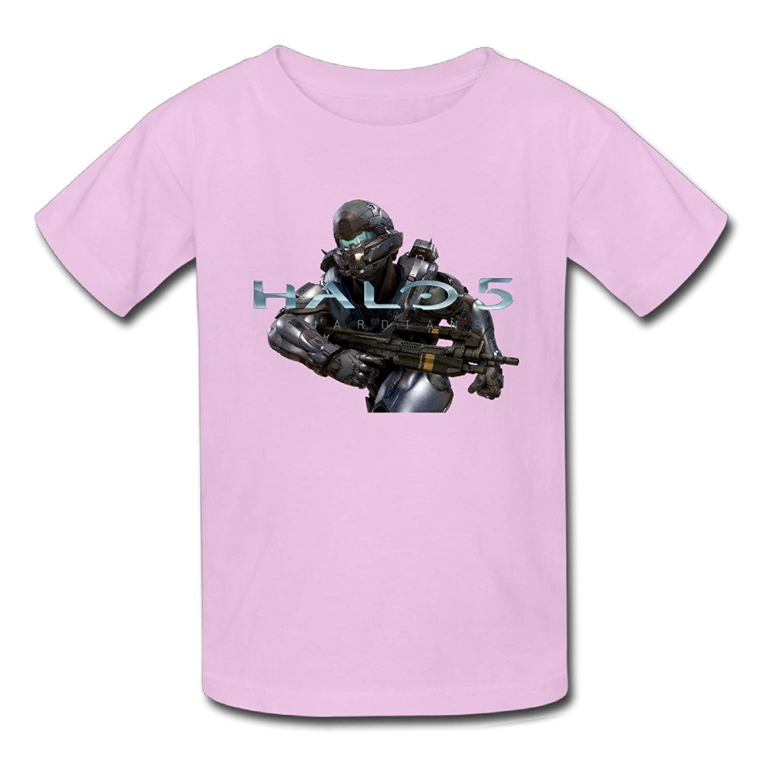 Halo 5 Guardians Game Logo Youth Quotes Slim Fit Short Sleeve T-Shirt