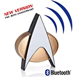 Star Trek Next Generation Bluetooth Communicator Badge - TNG Bluetooth Combadge with Chirp Sound Effects