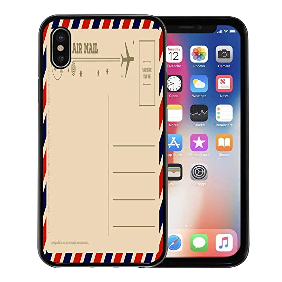 Amazon com: Emvency Phone Case for Apple iPhone Xs case,Mail Vintage