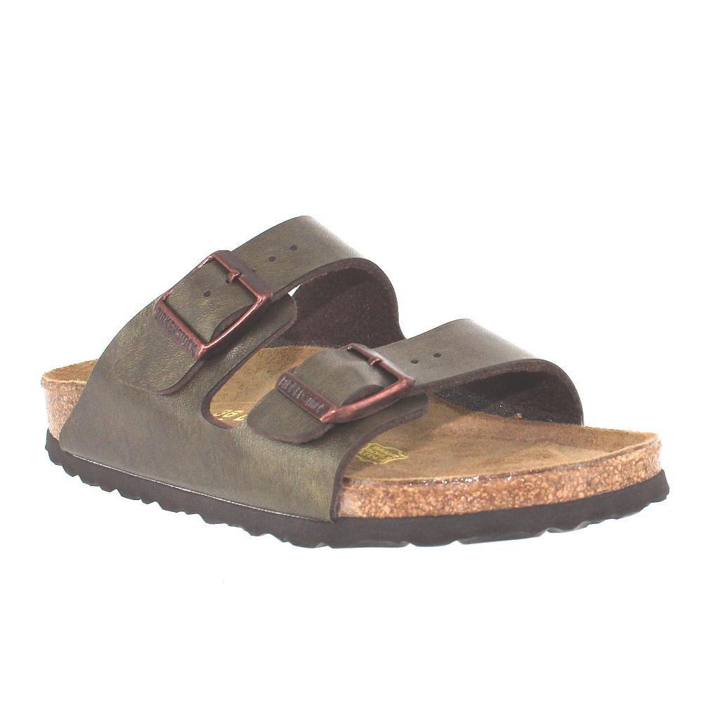 Birkenstock Unisex Arizona Golden Brown Sandals - 42 N EU/11-11.5 2A(N) US Women/9-9.5 2A(N) US Men