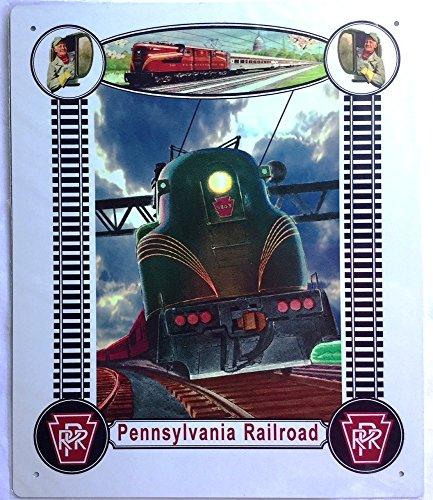 - Railroad Tin Sign- PRR Pennsylvania Railroad GG1#2