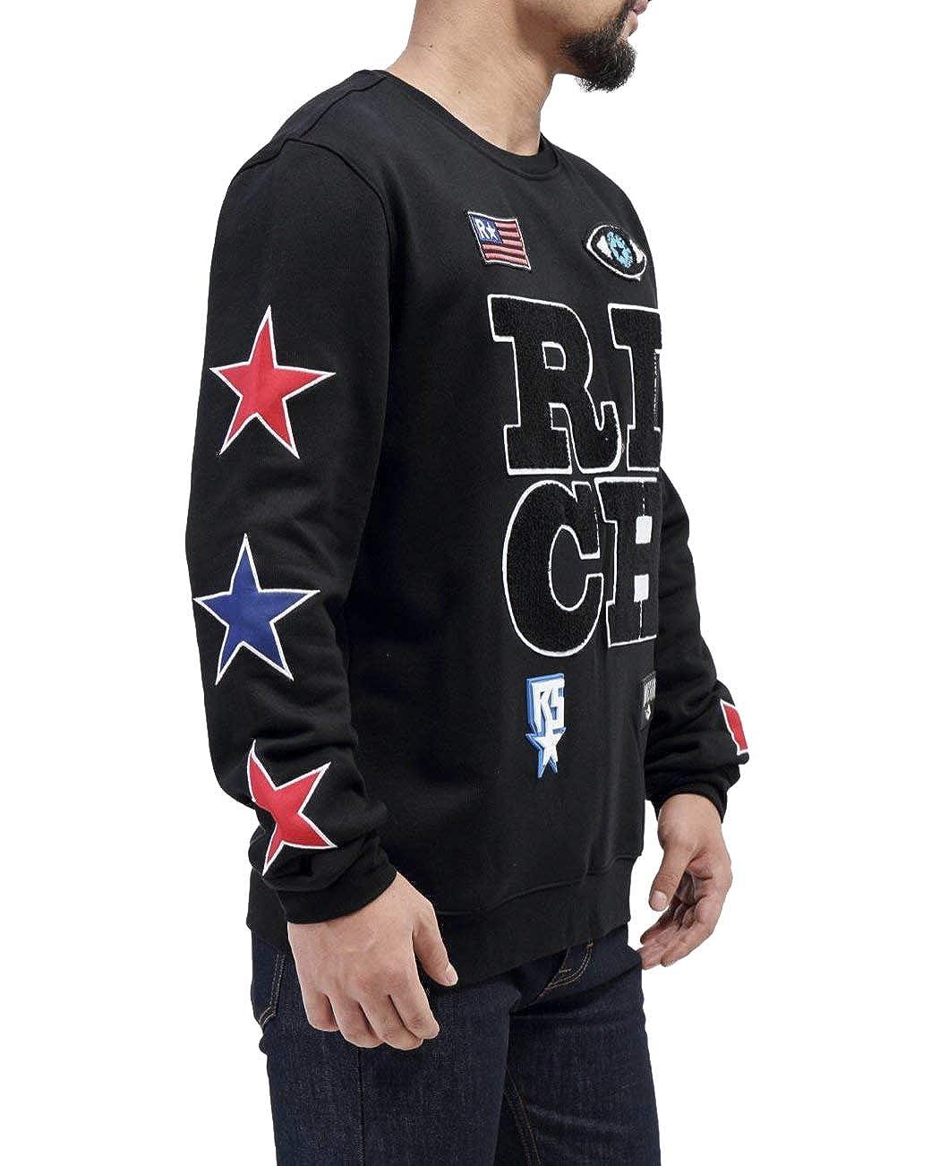 Rich Star Rich Stack Logo Crewneck Sweatshirt