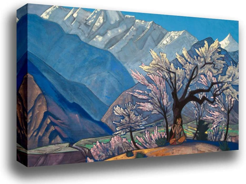 """Fine art print NEW 20/"""" x 28/"""" Moses the Leader By Nicholas Roerich"""