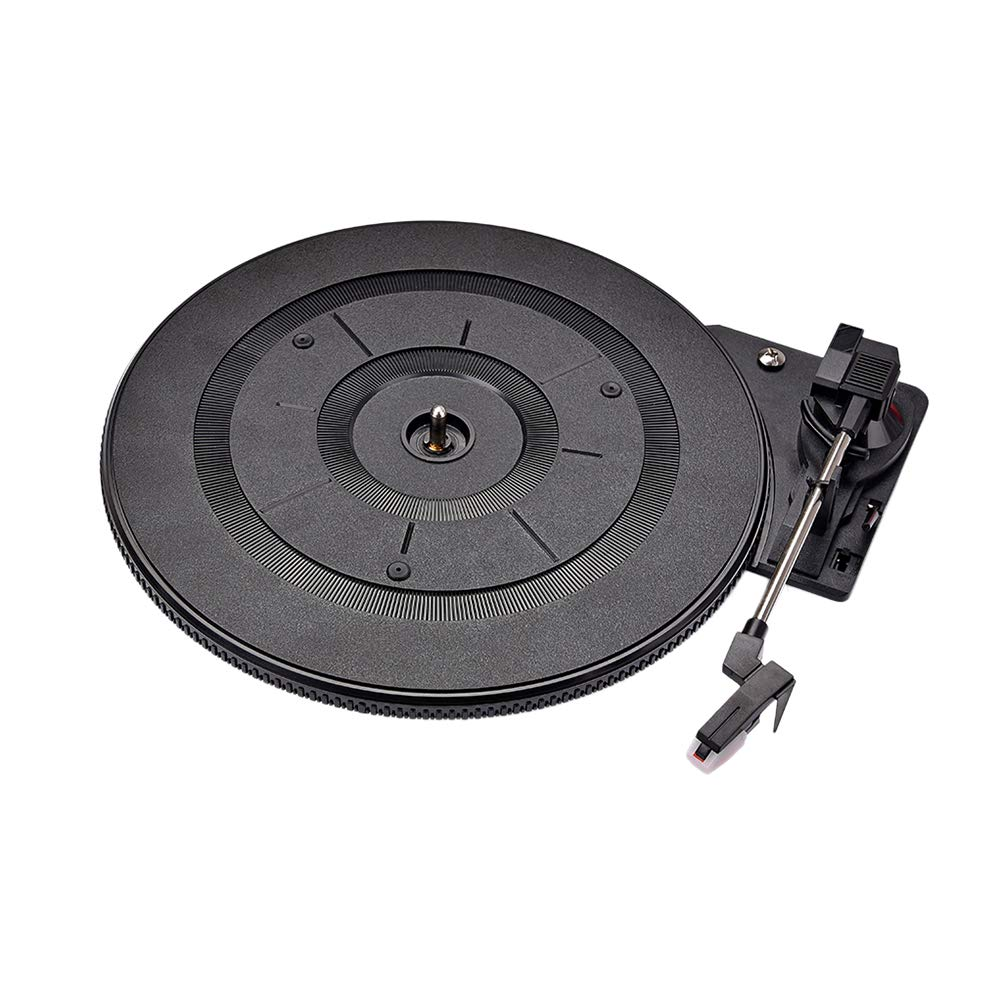 LIOOBO Tocadiscos LP de vinilo vintage giradiscos para accesorios de...