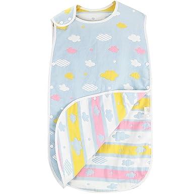 ARAUS Dormir Bebe Grande Saco de Dormir Estampado para Bebe 3~6 Anos (Azul