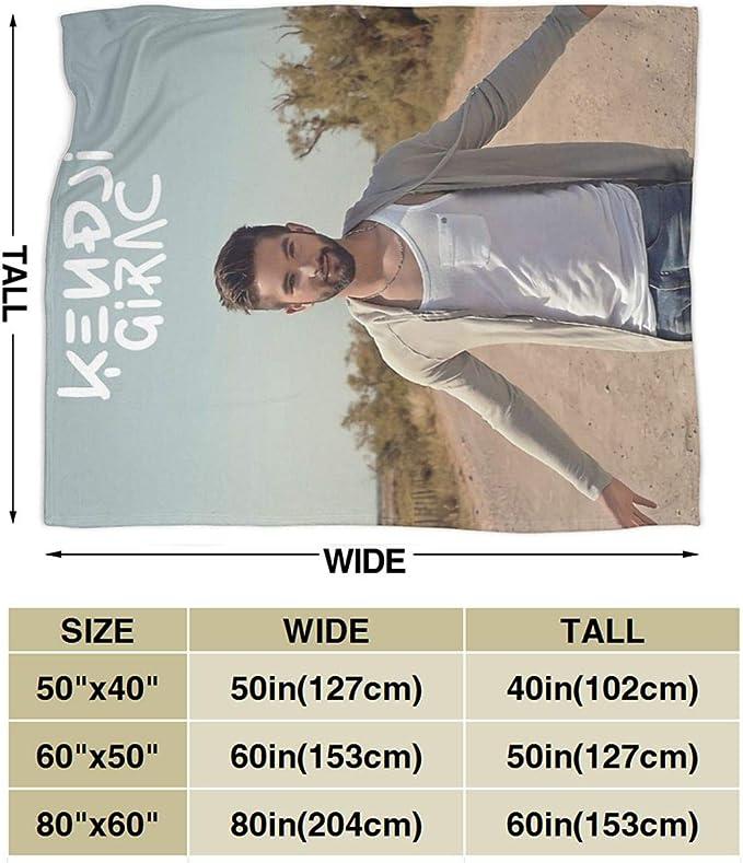 Fomente Kendji Girac Ultra Doux Molleton Couverture 50 x40