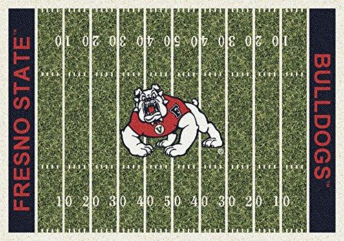 "Fresno State Bulldogs NCAA Area Rug - Home Field (7'8"" x 10'9"")"