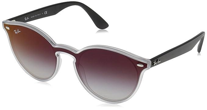 Ray-Ban 6355U0 Gafas de sol, Matte Transparente, 45 Unisex ...