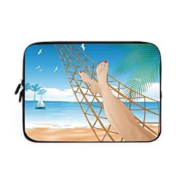 Amazon.com: Tropical - Funda de neopreno para ordenador ...
