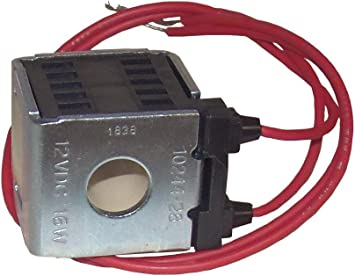 Deltrol 10244-28 12VDC Solenoid Coil 16W Dual Lead Wire