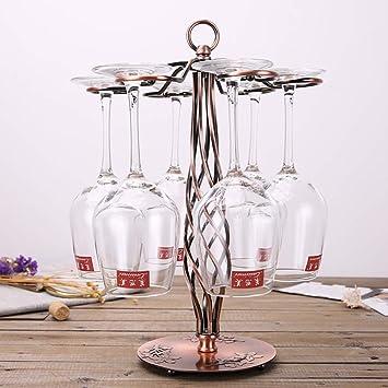 Amazoncom European Wrought Iron Wine Glass Holder Goblet Rack