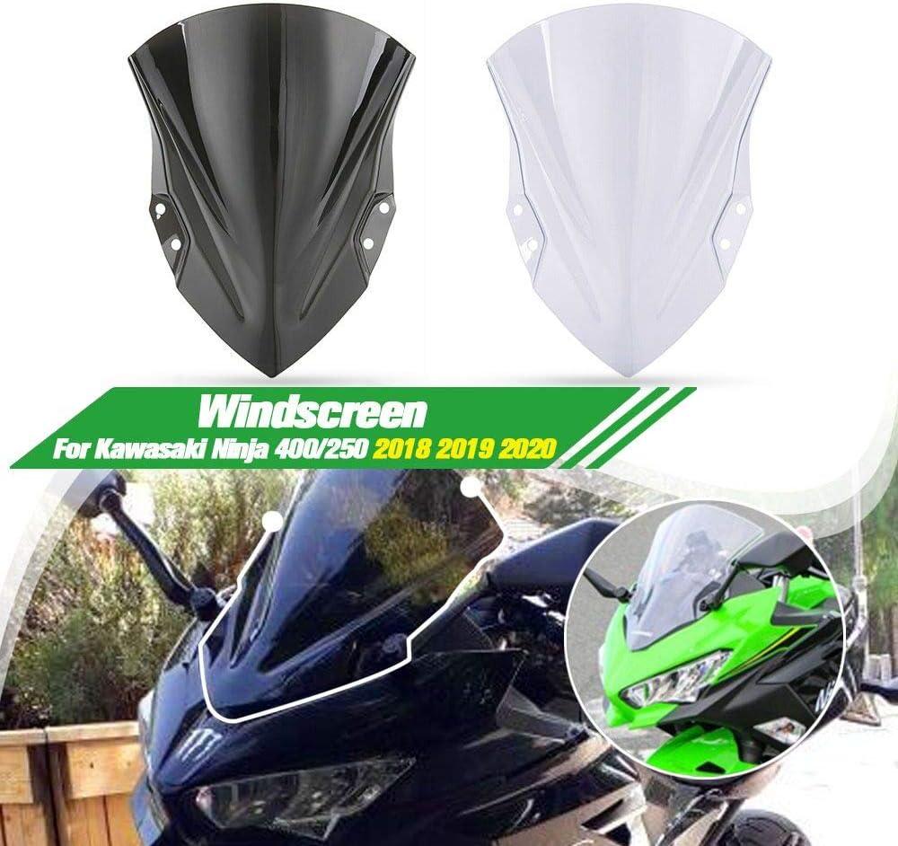 Lorababer Motorrad Windschutzscheibe Passend Für Kawasaki Ninja 400 Ninja400 Ninja 400 2018 2019 Auto