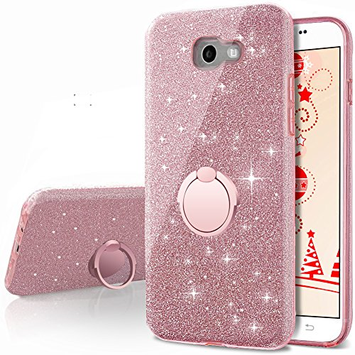 Amazon.com: Galaxy A5 2017 Case,Silverback Girls Bling ...