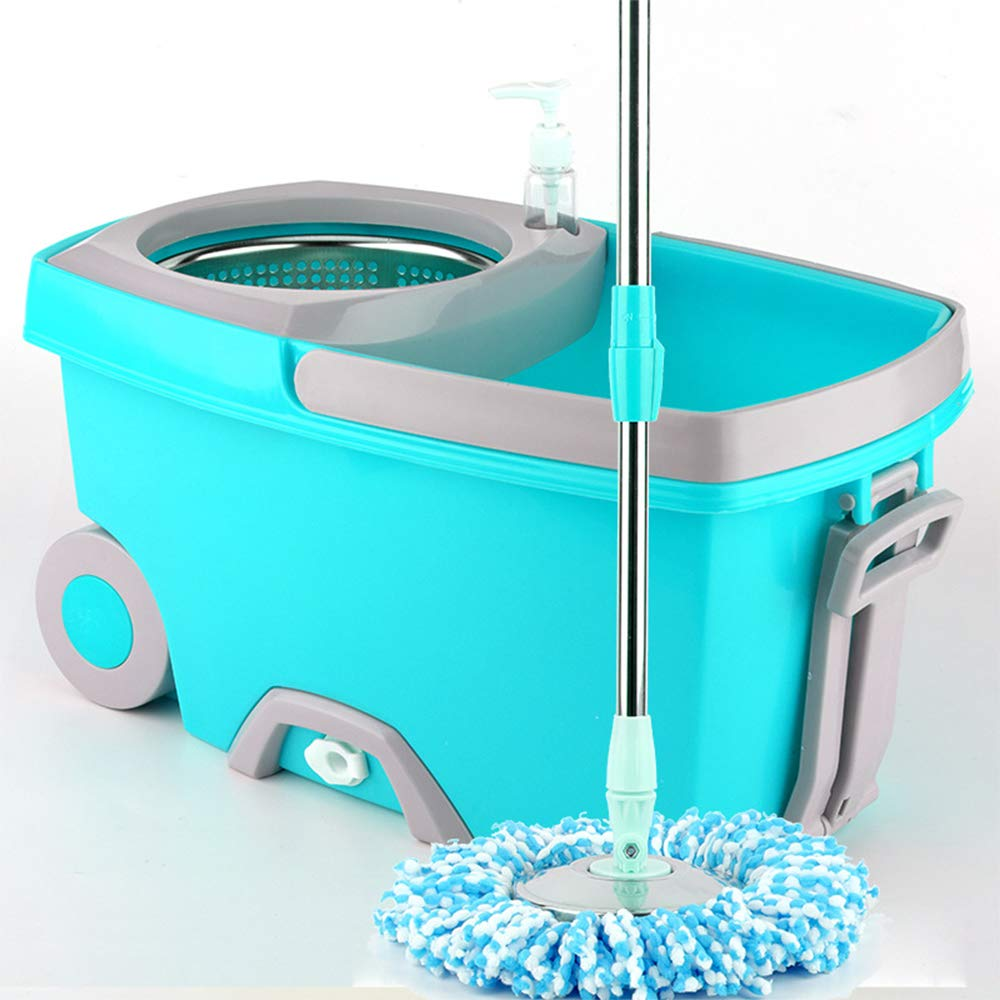 Zhanghaidong Rotating Mop Bucket Hand Pressure Good God Drag Double Drive Mop with Wheels to Increase Mopping Bucket Barrel