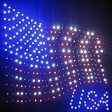 Creative Motion USA Flag LED Sign