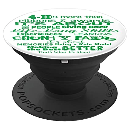 Amazon com: 4 H County Fair is more than ribbons Pop Socket