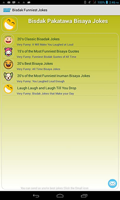 Amazon Bisdak Funniest Jokes Appstore for Android