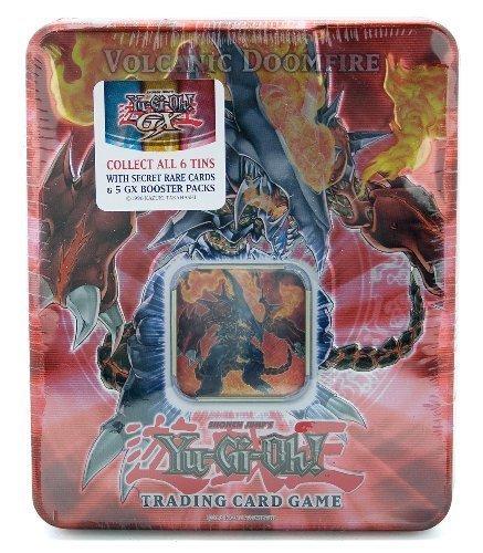 Card Collector 2 Set (YuGiOh GX Card Game 2007 Series 2 Collector Tin Set Volcanic Doomfire)