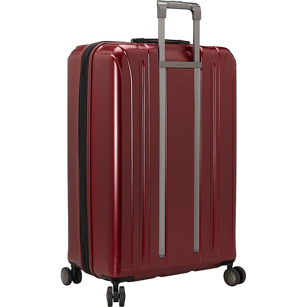 Spinner Suitcase Graphite 21//25//29 00207198701 Inc Delsey Luggage Titanium 3 Piece Set