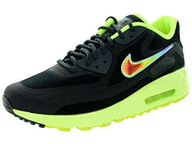 uk availability 4e3a6 51c86 Nike Womens Air Max Lunar90 C3.0 BlackMtllc SilverVltAnthrct