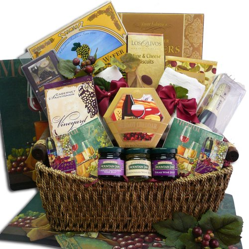 Art of Appreciation Gift Baskets Wine Lovers Gourmet Food Gift Basket (Chocolate)