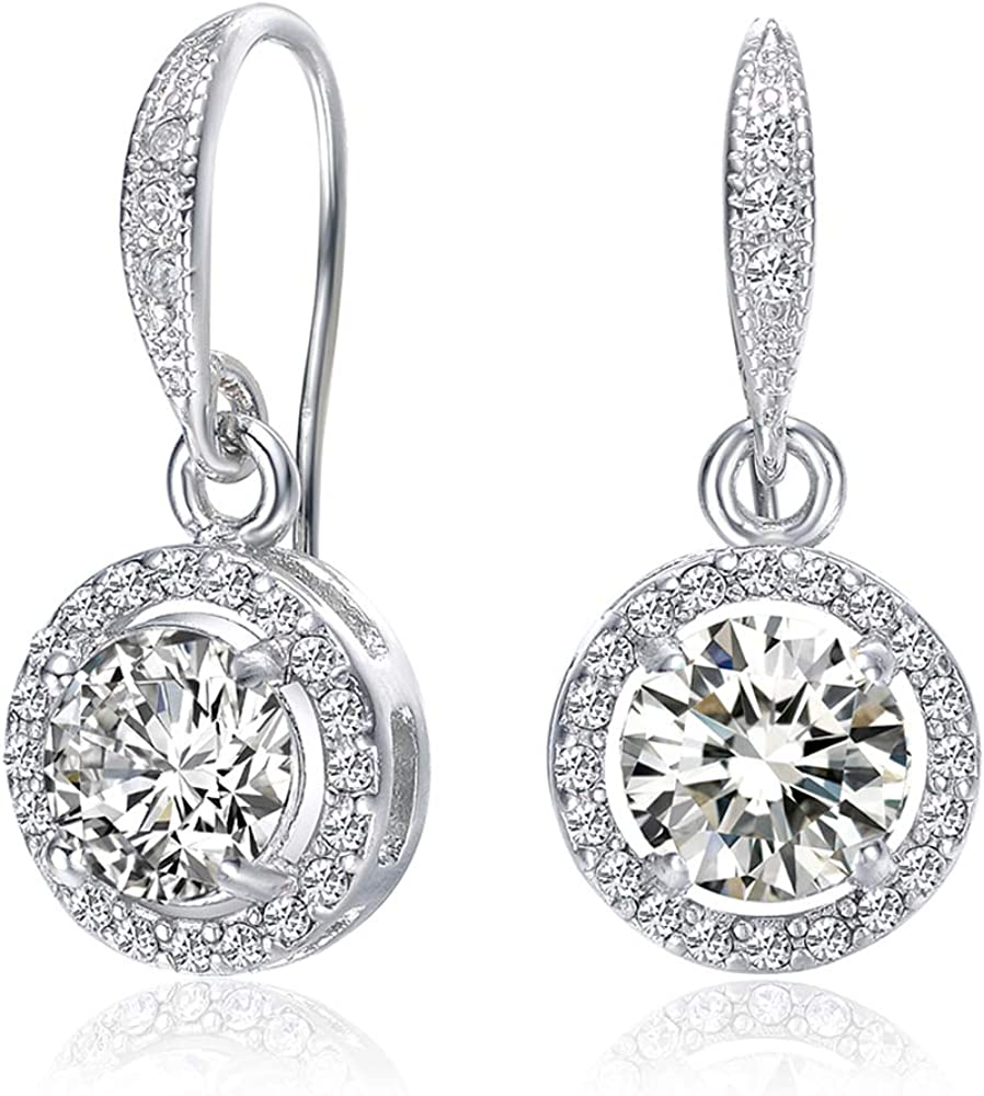 Stud Earring Set Gifts Women Girls Tri MESTIGE Petunia Trinity Earring Set with Swarovski Crystals