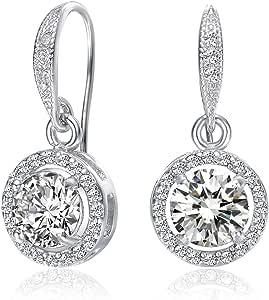 Mestige MSER3135 Women's Crystals Drop and Dangle Earrings