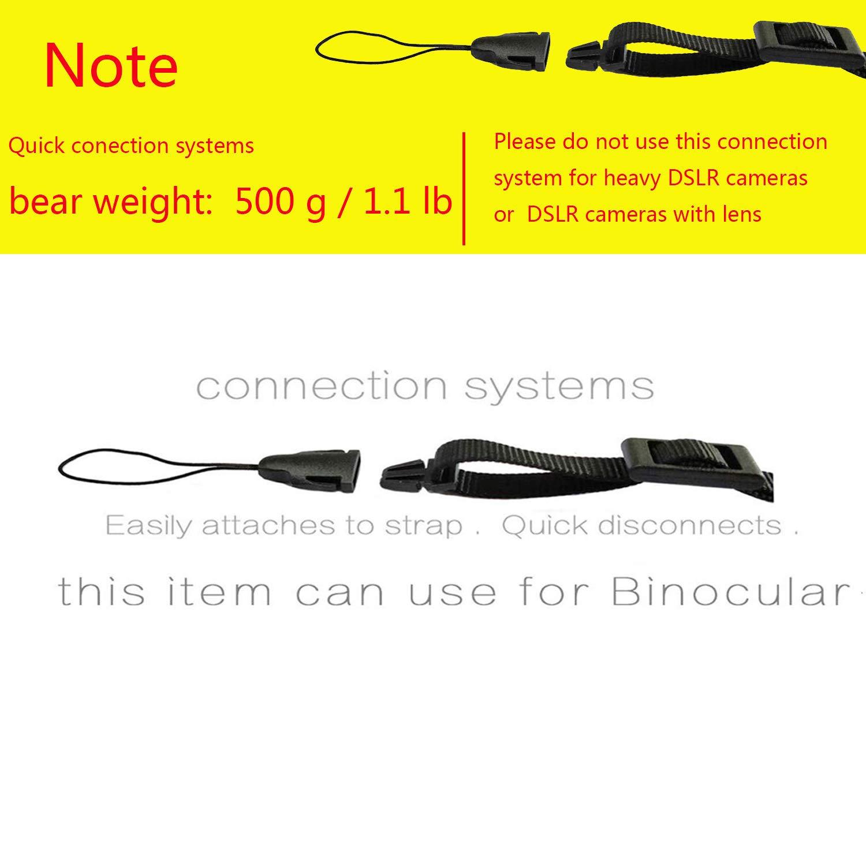 Black. CHMETE Mirrorless Camera Neck Strap