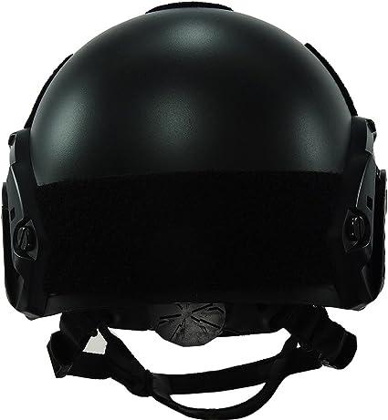 OneTigris Casque Tactique du Type MH L/éger et Rapide pour Airsoft Paintball