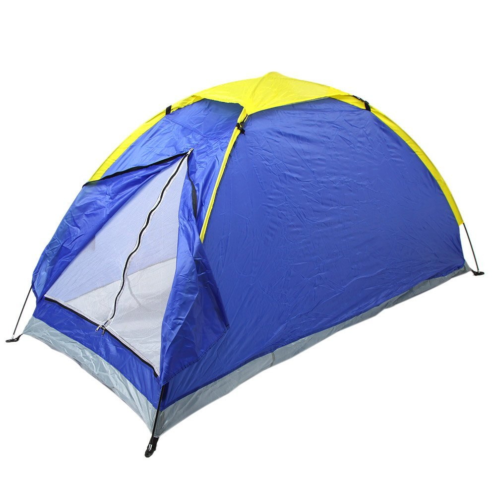 Docooler Camping Tent Single Tent UV-resistant Layer Single Outdoor Portable UV-resistant 141[並行輸入] B01LY0C2TJ, ペット用品販売ワンサプ:5bd1e8bf --- ijpba.info