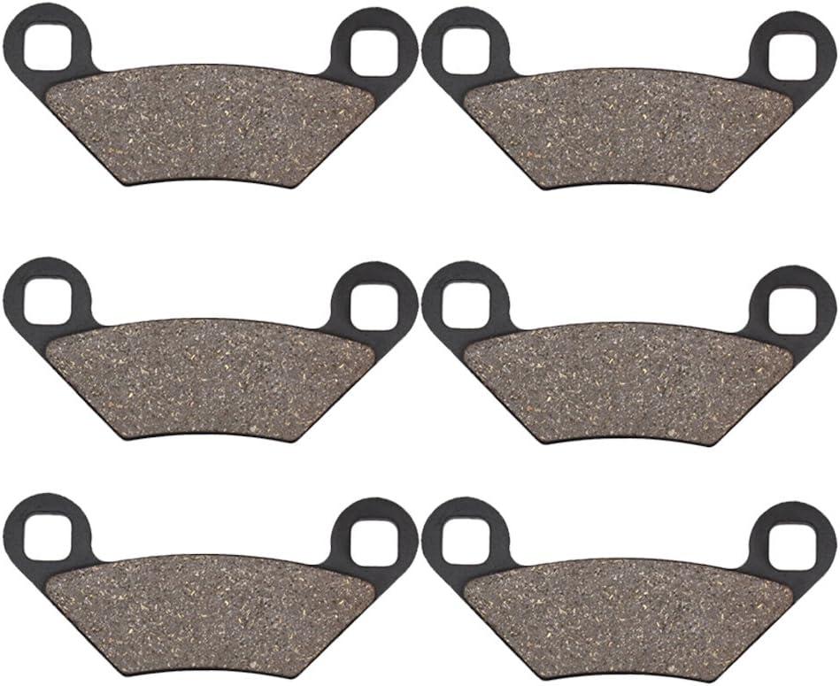 Cyleto Plaquettes de frein avant et arri/ère pour Polaris Scrambler 1000 Scrambler 1000XP 1000 XP//Forest 1000 Sportsman 1000 2015