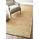nuLOOM Natura Collection Hailey Jute Natural Fibers