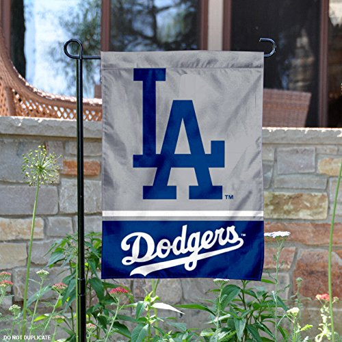 fan products of Los Angeles Dodgers Double Sided Garden Flag
