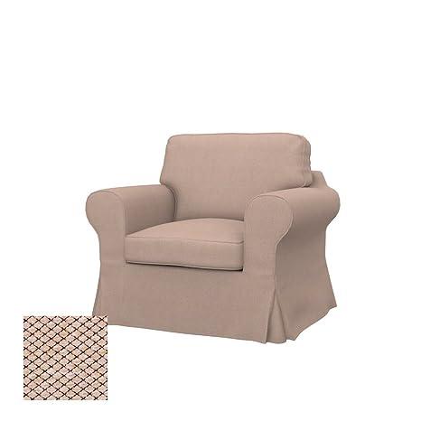 Soferia - IKEA EKTORP Funda para sillón, Nordic Beige ...