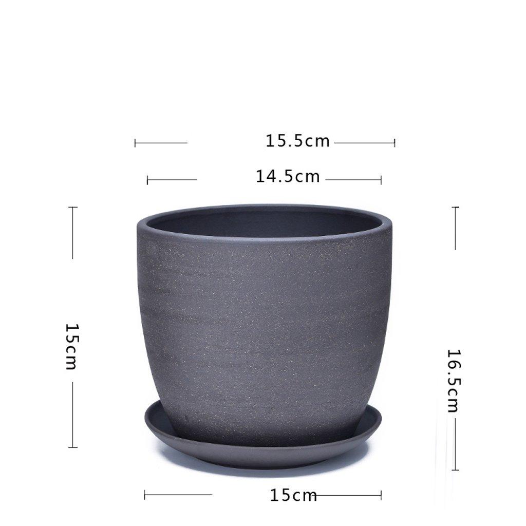 トスカーナ屋内釉薬セラミックプラントポット大 (Size : 2) B07F8ZRHT3   2