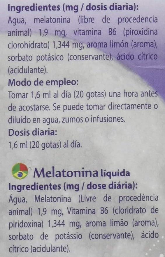 Drasanvi Melatonina Complemento Alimenticio - 50 ml: Amazon.es: Salud y cuidado personal