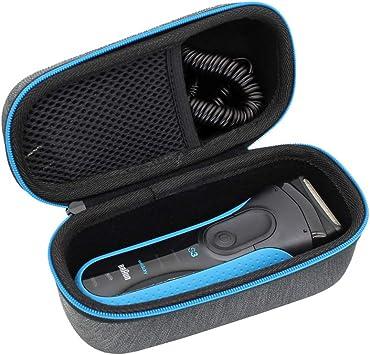 ESCOCO Duro Estuche Viajes Funda Bolso para Braun Series 3 3010BT 3010 3040s 3030s 3020s 3000s Afeitadora eléctrica: Amazon.es: Salud y cuidado personal