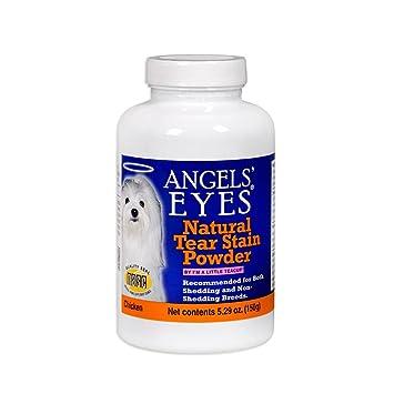 Angels Eyes Polvos eliminar las manchas de lágrimas en perros, sabor pollo, 150 g: Amazon.es: Productos para mascotas