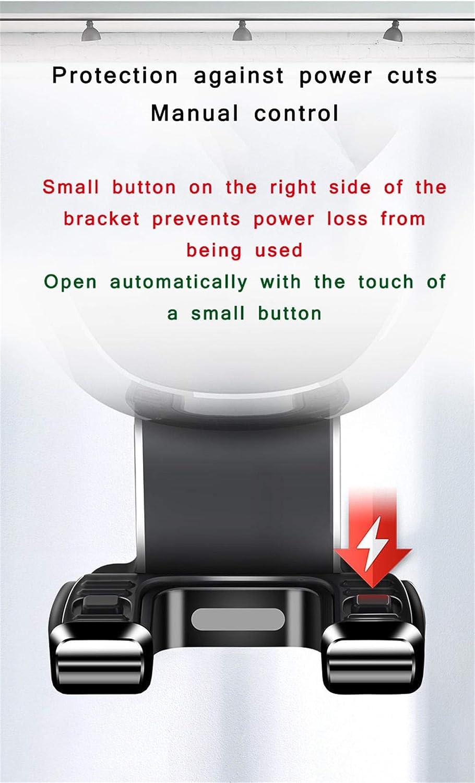 KrusdanS Supporto Cellulare Auto 360/° di Rotazione Porta Cellulare Telefono Supporto Smartphone Auto Universale per X// 8//8 Plus//7,S9//S8,Honor,Xiaomi,Huawei E Altri Smartphone