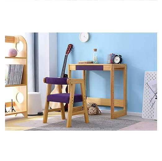 De madera maciza de elevación for niños mesa de estudio Y ...