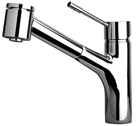 LaToscana 78PW576 Elba Single Handle Pull-Out Kitchen Faucet with 2 ...