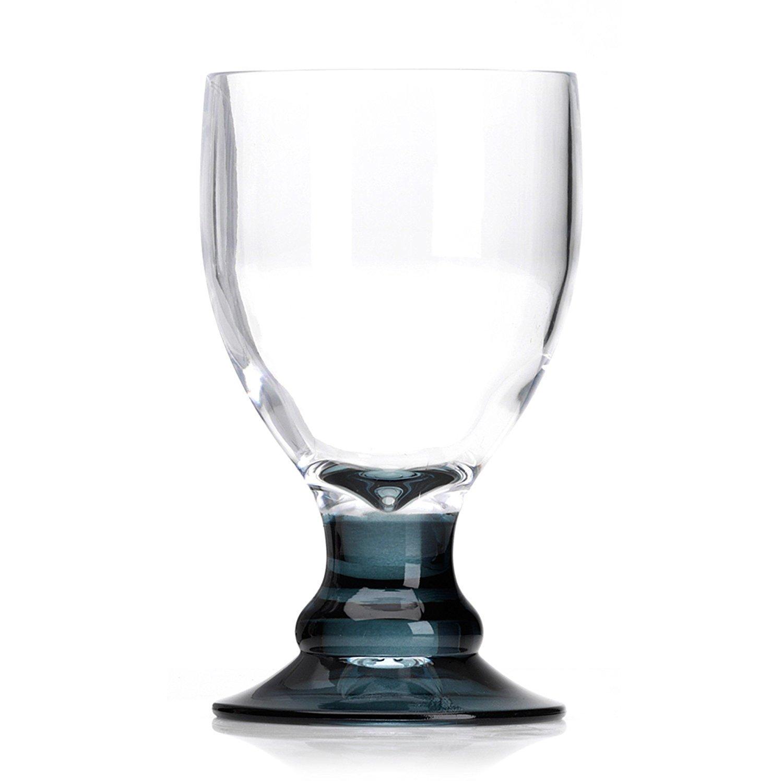 Flamefield PACK OF 2 acrylic camping caravan 14oz bella goblets goblet glasses