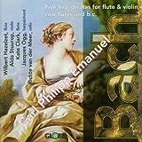 CPE Bach: Trio Sonatas for Flute and Violin