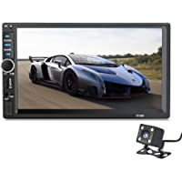 【 Summdey 7 Pollici Universale 2 DIN HD Bluetooth USB/TF FM Aux Ingresso Auto Radio MP5 Lettore Multimedia Radio Divertimento con Rear View Fotocamera