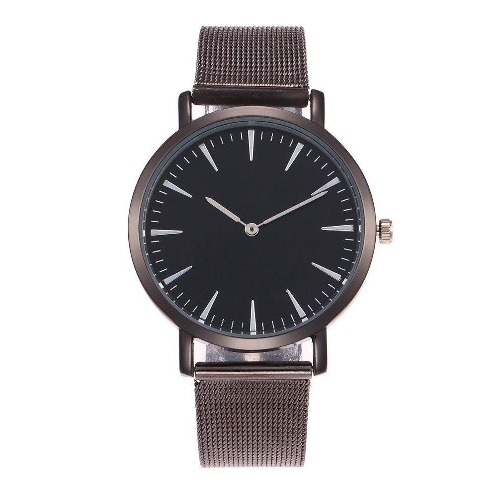 VANSOON Ladies Watches Waterproof Wristwatch Casual Comfortable Luxury Women Men Stainless Steel Bracelet Watch Analog Quartz Bracelet Wrist Watches New ...