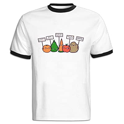 The Sticky Cat Kids I Hate Vegans Cartoon Vegetables Fashion Crewneck Pullover Sweaters