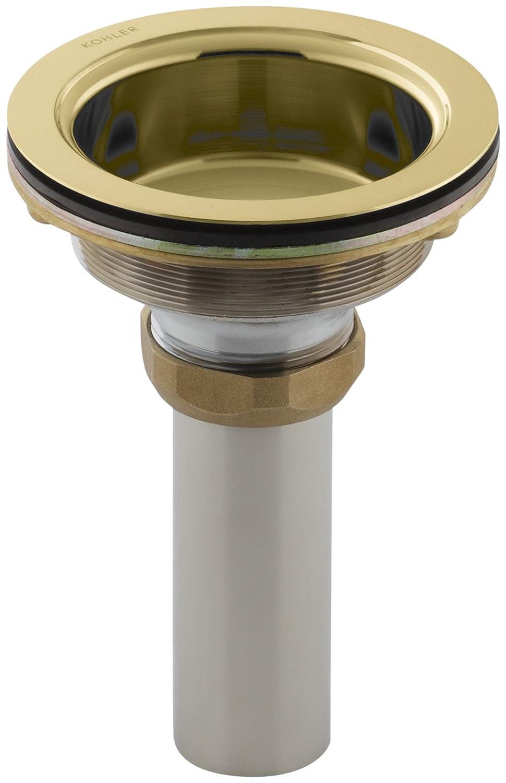 Kohler K 8804 PB Duostrainer Body Vibrant Polished Brass