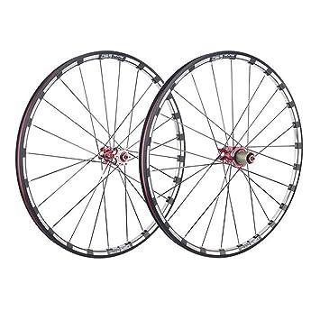 LIDAUTO Ruedas de Bicicleta de montaña Buje de Fibra de Carbono 5 ...