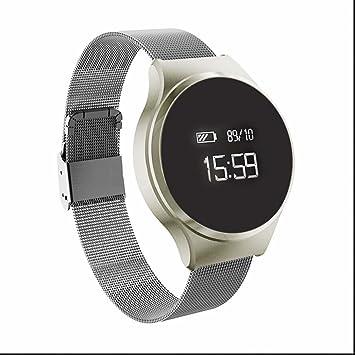 Reloj inteligente Bluetooth Relojes de pulsera de deporte,resistente a los golpes,Fitness Tracker